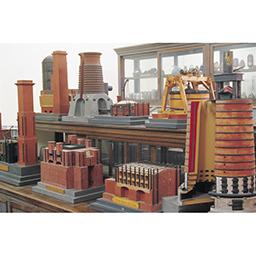 フライベルク製鉱山関連模型